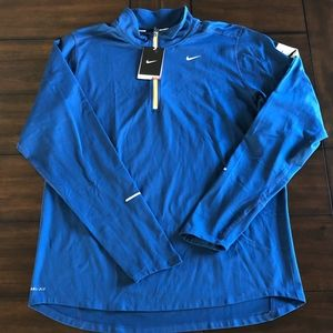 Nike Dri-Fit WE RUN NYC Running 1/2 zip Jacket L